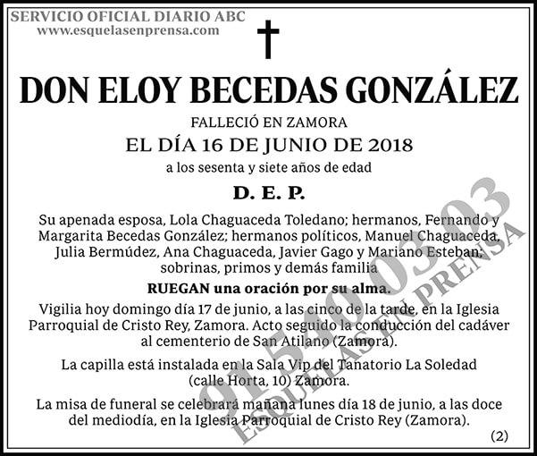 Eloy Becedas González